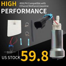 450LPH High Performance Racing Fuel Pump &Install For Walbro E85 Mitsubishi