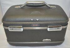 Vintage American Tourister Tiara Train Makeup Case W/ Tray