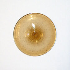 Glasbutzen 8cm hellbraun - mundgeblasene Butzenscheiben Tiffany Glass Rondel B1