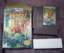 The Adventures of Bayou Billy Nintendo NES Game with Box