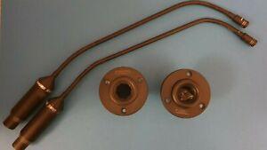 2 x Shure SM 99 | Schwanenhals Kondensator Mikrofon mit A99SM Shock Mount |