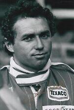 Jochen Mass Hand Signed 12x8 Photo Formula 1 1.