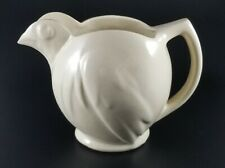 Vintage McCoy Cream Colored Bird Pitcher