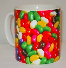 Jelly Beans Mug Can Personalise Great Sweet Tooth Sweets Sweeties Office Gift