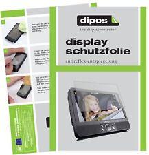 3x Lenco DVP-939 Schutzfolie matt Displayschutzfolie Folie Display Schutz dipos