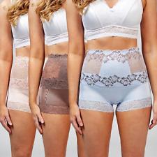 Rhonda Shear Pin Up Lace Detail Briefs Pack of 3 Blush Multi Size Large