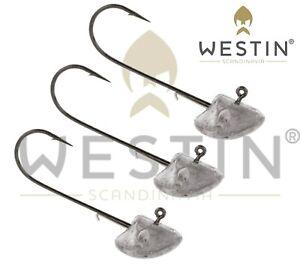 Westin Fishing Lures Jig Heads StandUp  3Pcs per pack Mustad Hooks Predator UL