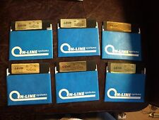 "Time Zone Hi-Res Adventure #5 6 Disks 1981 On-Line 5 1/4"" Floppy Apple II 5.25"