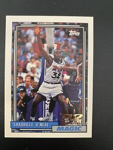 Shaquille O'NEAL - 1992-93 - Topps - #362  Rookie Card