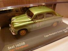 RES5 voiture 1/43 IXO altaya Rallye SEAT: Seat 1400 B 1957 Copa Montjuïch coches