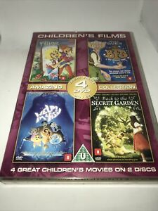 4 Great Childrens Movies On 2 Discs