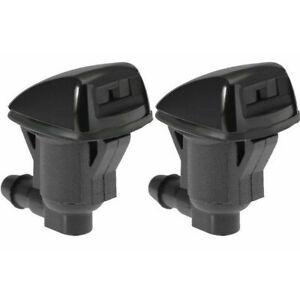 2Pcs Windshield Washer Nozzle For Chevrolet Malibu Pontiac G6 Saturn Aura 05-12