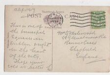 Mr G F Usherwood Glenalmond Road Banner Cross Sheffield 1917 302a