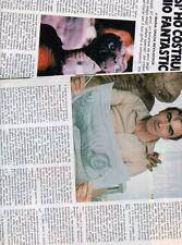 SP25 Clipping-Ritaglio 1983 Carlo Rambaldi Così ho costruito il mio E.T.