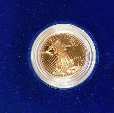 1993 $10 American Gold Eagle, Superb Gem+ Proof, Original Box & C.O.A.
