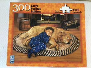 FX Schmid Boy's Best Friend (Large Format Pieces) 300 Piece Puzzle EUC!