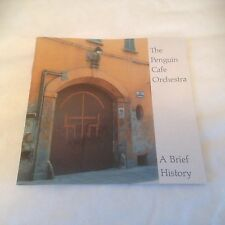Penguin Cafe Orchestra - A Brief History CD (2001) Prog Art Rock Avant Garde