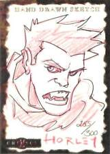 Crimson 2001 Dynamic Sketch Card Horley 255/300