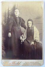 1800s Victorian Cabinet Card Photograph by Allen Nield  Edith M Harper & A Fox