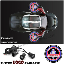 Shelby Cobra GT 350 Logo Car Door Projector Ghost Shadow Light For Ford Mustang