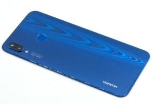 Original Huawei P20 Lite Akkudeckel Deckel Backcover Akku Touch ID ANE-LX1 Blau