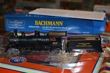 """Bachmann #52204 HO 4-6-0 Baldwin 52"""" Driver DCC Ready MD & PA #27 - NEW"""