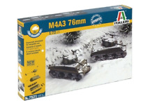 ITALERI 7521 - 1/72 Set Sherman m4a3 76mm - 2 modelli (WWII/2. guerra mondiale) - NUOVO