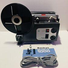 GOOD. Sankyo Dualux 1000 Std & Super 8mm PROJECTOR - adjustable speed -