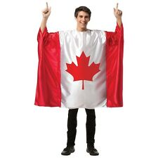 Flag Tunic Canada Costume Halloween Fancy Dress