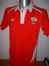 Wales Cymru Rugby Union Shirt Jersey Cotton Traders Adult Small World Cup Top