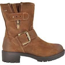 Clarks Ladies Winter Ankle Boots REUNITE GO GTX Mid Brown Suede UK 4 / 37