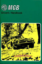 MGB OWNERS MANUAL DRIVERS GUIDE MG BOOK HANDBOOK