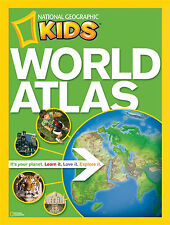 National Geographic KIDS World Atlas ... ISBN 9781426306877 FREE SHIP in Oz