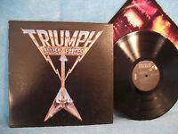 Triumph, Allied Forces, RCA Records AFL1-3902, 1981