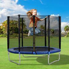 Trampolin Set 205 cm 150 kg Kinder Gartentrampolin Komplettset Netz Plane