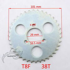 Pocket Bike T8F 38 Tooth 29mm Rear Chain Sprocket For 43 49cc Mini Goped Scooter