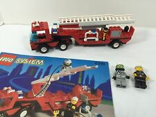 LEGO City / Town set# 6340 - Hook & Ladder Fire Truck