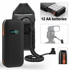 AODELAN External Flash Battery Pack Rapid Recycling Portable for Speedlite Sony