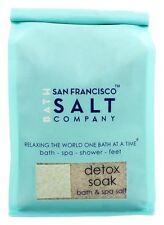 San Francisco Salt Company - Bath & Spa Salt Detox Soak - 32 oz.