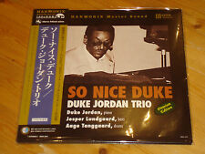 DUKE JORDAN TRIO So Nice Duke Audiophile TBM HARMONIX MASTER SOUND 180g LP NEW