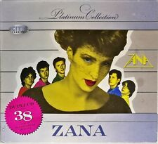 2CD ZANA PLATINUM COLLECTION compilation 2009 serbia bosnia croatia Cardboard