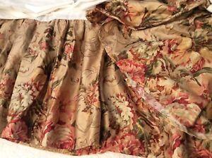 New Ralph Lauren Guinevere Queen Sateen Bed Skirt Dust Ruffle NIOP