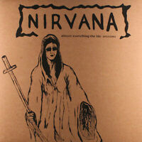Nirvana ‎Almost Everything The BBC Sessions Vinyl lp silkscreen sleeve ltd / 500