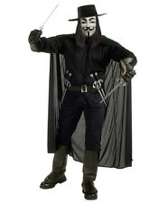 V For Vendetta Costume Accessory, Mens Cape Style 1