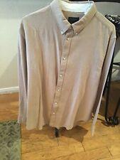 Rag & Bone Camel Fit 2 Tomlin Shirt XL  $250 NWT