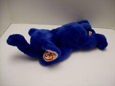 """Peanut"" the Royal Blue Elephant TY Plush 16 inches long approximately"