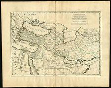 Antique Print-ASSYRIAN EMPIRE-MEDIA-PERSIA-SYRIA-Moulart-Sanson-ca. 1725
