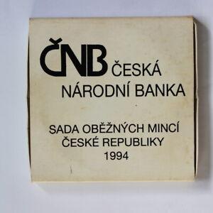 CZECH REPUBLIC  UNC Coins Mint Set  1994  (3311523/M7)