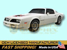 1978 Pontiac Trans Am Decals & Stripes Kits