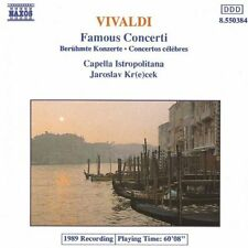 Vivaldi: Famous Concertos (Concerti Famosi) - CD